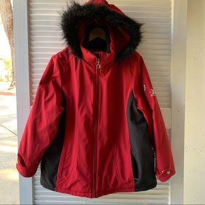 Zero Xposur winter coat red/black 1X